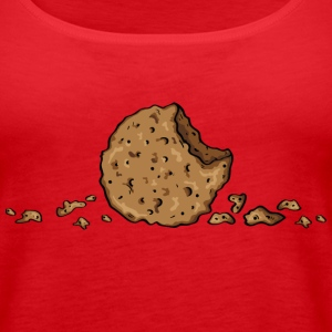 Cookie, only cookie Topy - Tank top damski Premium
