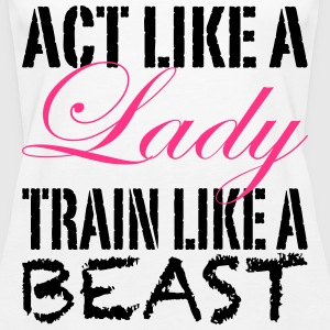 Act Like A Lady Tops - Camiseta de tirantes premium mujer