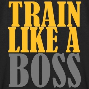 Train Like A Boss T-shirts - Mannen Premium tank top