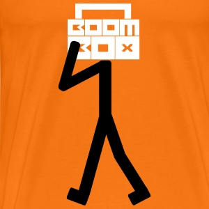 Boom Box Stick Man T-Shirts - Men's Premium T-Shirt