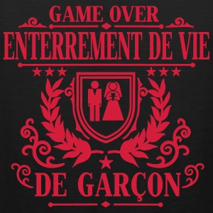 Enterrement de vie de garçon - Game Over T-Shirts - Men's Premium Tank Top