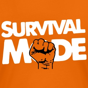 Survival Mode T-shirts - Dame premium T-shirt