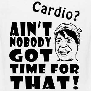 Ain't No Time For Cardio T-Shirts - Men's Premium Tank Top
