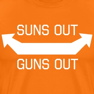 Suns Out Guns Out T-Shirts - Men's Premium T-Shirt