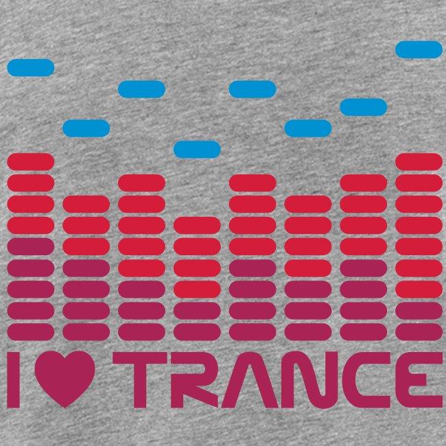I love Trance Muskelshirt