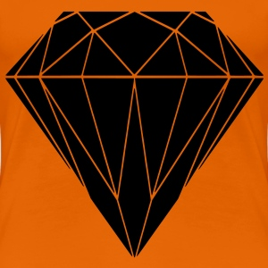 diamond T-Shirts - Women's Premium T-Shirt