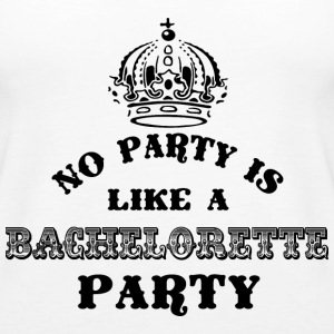 No Party Like A Bachelorette Party Black Tops - Women's Premium Tank Top