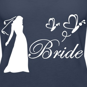 bride Tops - Women's Premium Tank Top