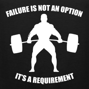 Failure Is Not An Option - Muscle 2 - Men's Premium Tank Top
