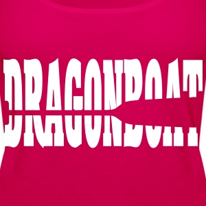 Dragonboat Dragon Boat pagaia pagaia 1c Top - Canotta premium da donna