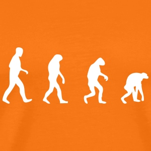 evolution backwards back to the roots T-Shirts - Männer Premium T-Shirt
