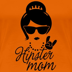 Like a i love hipster mother mom mother's day Camisetas - Camiseta premium mujer