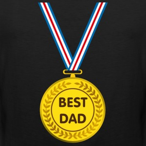 best dad T-Shirts - Men's Premium Tank Top