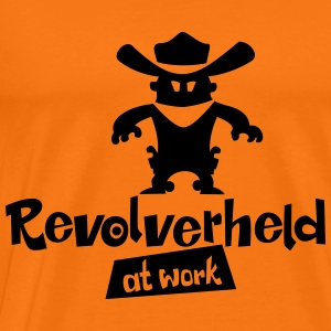 Revolverheld at work - Männer Premium T-Shirt