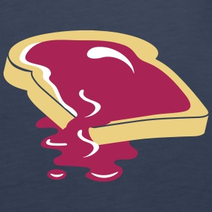A slice of bread with jam Tops - Women's Premium Tank Top