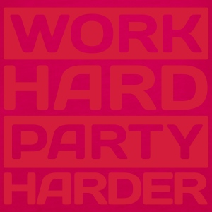 work hard party harder Débardeurs - Débardeur Premium Femme