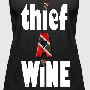 thief a wine Tops - Women's Premium Tank Top