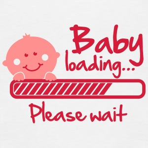 Baby loading - please wait Tops - Frauen Premium Tank Top