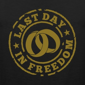 Last day in freedom T-Shirts - Men's Premium Tank Top