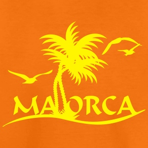 Mallorca-Palmen / Mallorca with palm trees (1c) Shirts - Kids' Premium T-Shirt