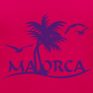 Mallorca-Palmen / Mallorca with palm trees (1c) Tops - Frauen Premium Tank Top