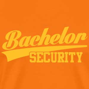bachelor security T-Shirts - Männer Premium T-Shirt