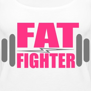 Fat Fighter Topit - Naisten premium hihaton toppi