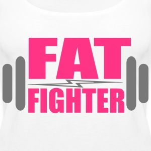 Fat Fighter Topy - Tank top damski Premium