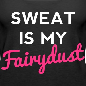 Sweat Is My Fairydust Toppe - Dame Premium tanktop