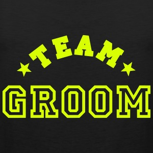team groom T-Shirts - Men's Premium Tank Top