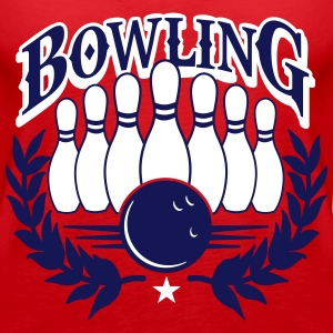 bowling Tops - Women's Premium Tank Top