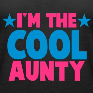 I'm the COOL aunty! Tops - Women's Premium Tank Top