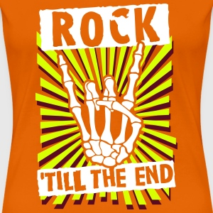 rock 'till the end Tee shirts - T-shirt Premium Femme