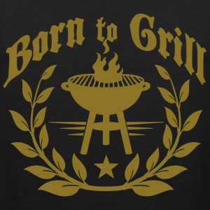 Born to Grill T-Shirts - Men's Premium Tank Top