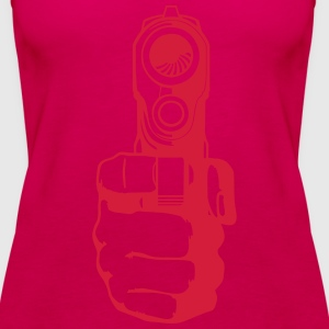 gun Tops - Women's Premium Tank Top