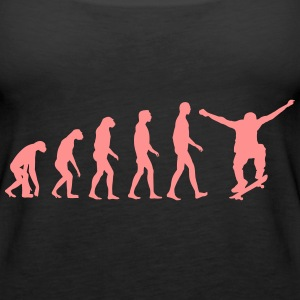 skate evolution Tops - Frauen Premium Tank Top