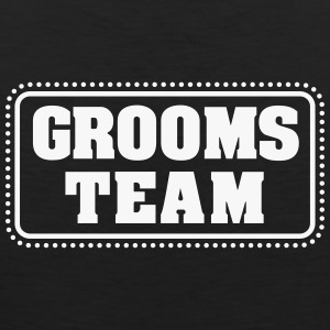 Grooms team (1c) T-Shirts - Men's Premium Tank Top