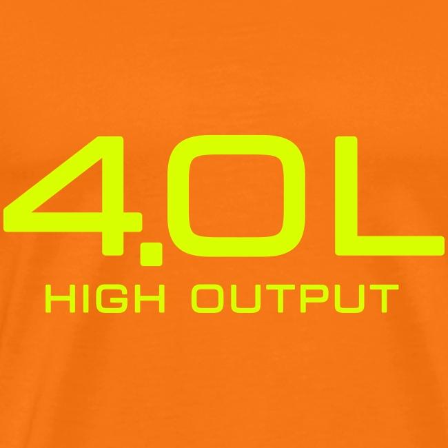 4.0 Litre High Output