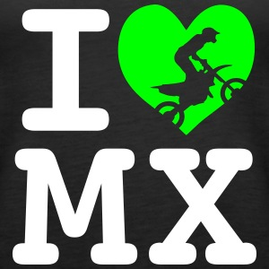 I love MX 2 Tops - Frauen Premium Tank Top