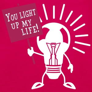 You light up my life Tops - Frauen Premium Tank Top