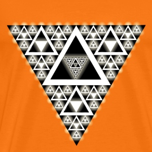 Hypnotic-Triangle - Männer Premium T-Shirt