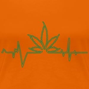 cannabis pulsation T-Shirts - Women's Premium T-Shirt
