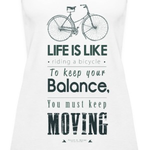 Life Is Like - oben Tops - Frauen Premium Tank Top
