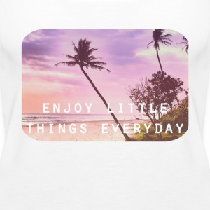 enjoy little things Topper - Premium singlet for kvinner