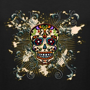 Mexican Sugar Skull - Day of the Dead Magliette - Canotta premium da uomo