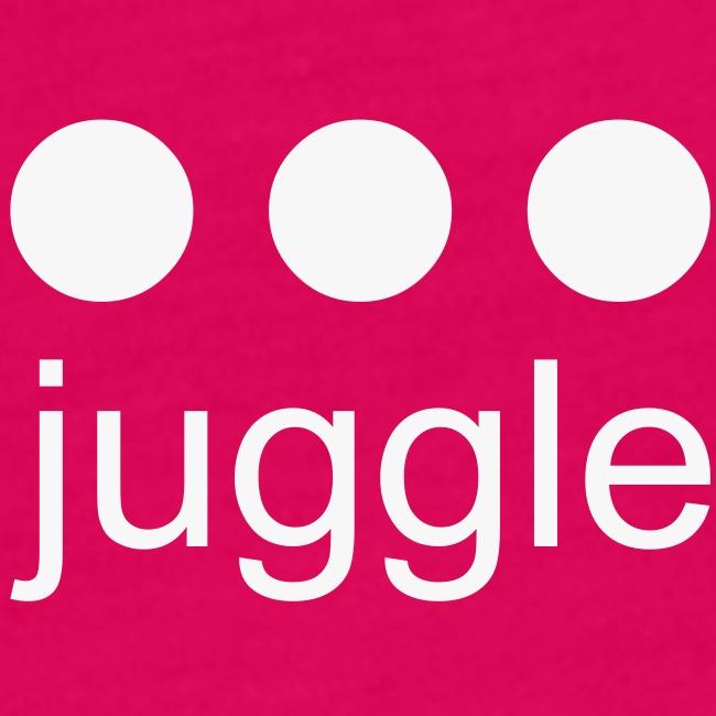 Juggle • flex White with glitter