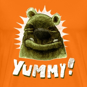 Orange yummy! T-Shirts - Men's Premium T-Shirt