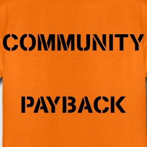 Community Payback for Kids Original - Kinder Premium T-Shirt