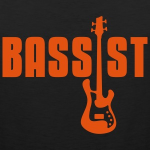 bassist T-Shirts - Men's Premium Tank Top