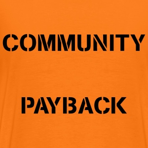 Community Payback for Men Original - Männer Premium T-Shirt